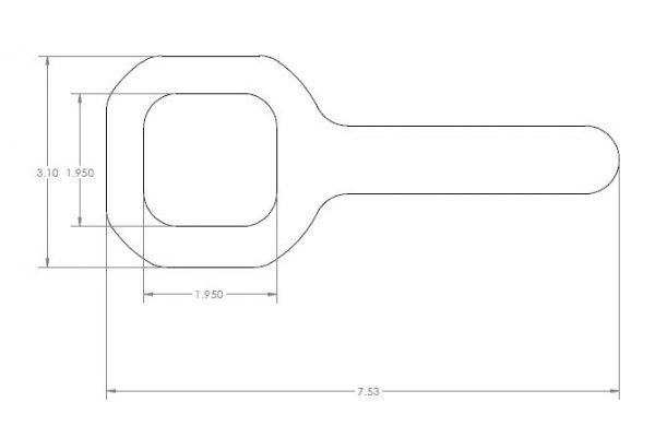 WEBSITE DIMENSIONS FOR K772 WRENCH